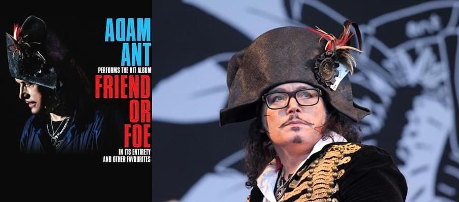 Adam Ant at Silver Legacy Casino
