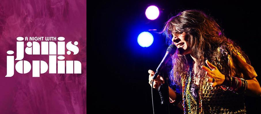 A Night with Janis Joplin at Pioneer Center Auditorium