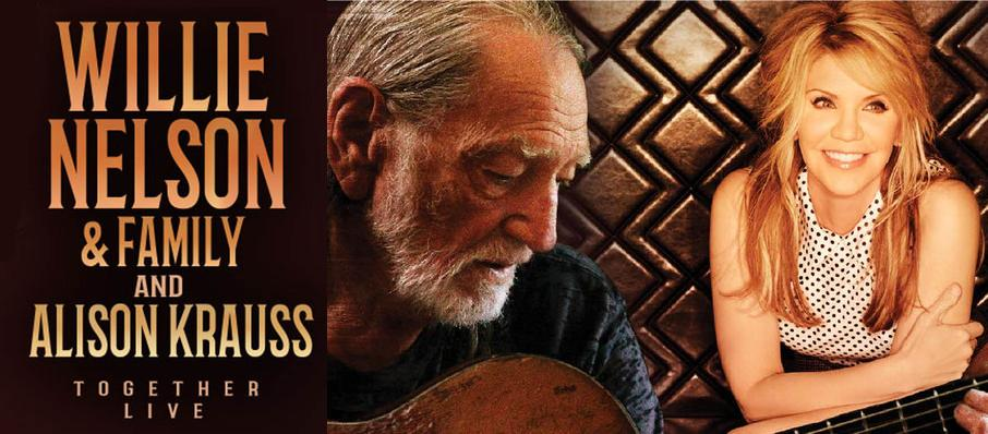 Willie Nelson & Alison Krauss at Grand Sierra Theatre