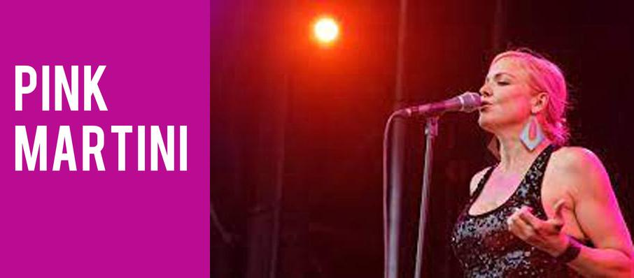 Pink Martini at Grand Sierra Theatre