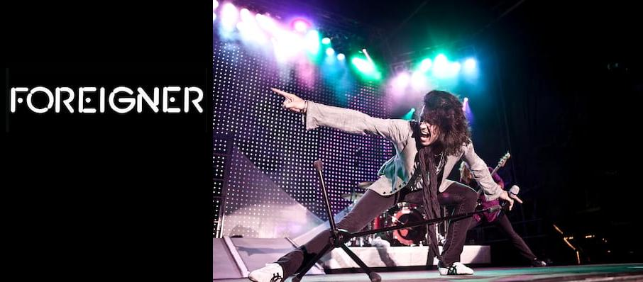 Foreigner at Silver Legacy Casino