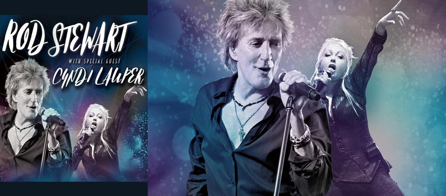 Rod Stewart and Cyndi Lauper at Reno Events Center