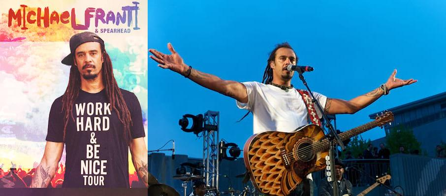 Michael Franti and Spearhead at Harrah's Reno Convention Center