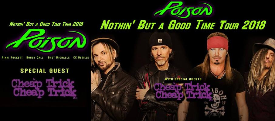 Poison with Cheap Trick at Grand Sierra Theatre