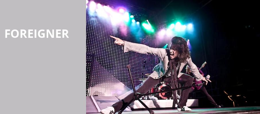 Foreigner, Grand Sierra Theatre, Reno