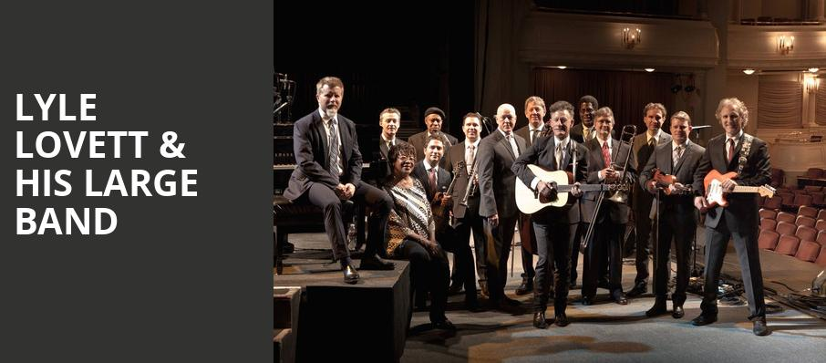 Lyle Lovett His Large Band, Silver Legacy Casino, Reno