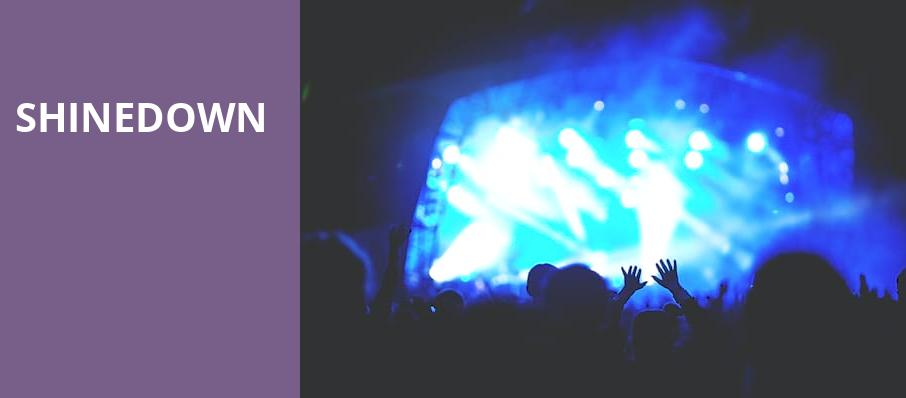 Shinedown, Reno Events Center, Reno