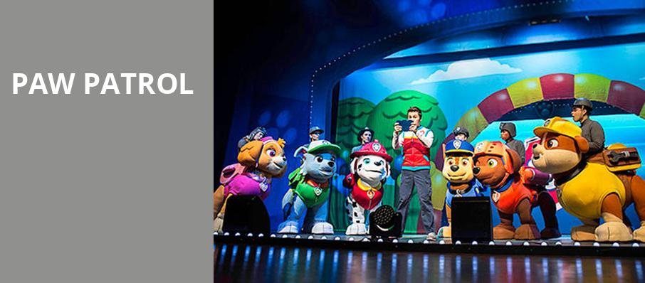 Paw Patrol, Lawlor Events Center, Reno