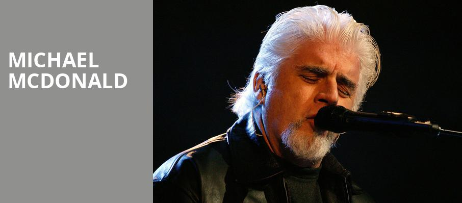 Michael McDonald, Grand Sierra Theatre, Reno