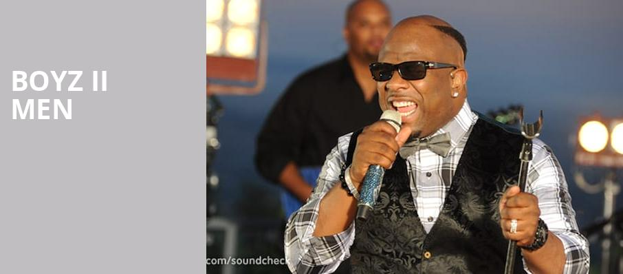 Boyz II Men, Grand Sierra Theatre, Reno