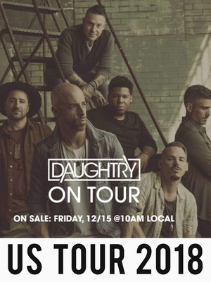 Daughtry, Silver Legacy Casino, Reno